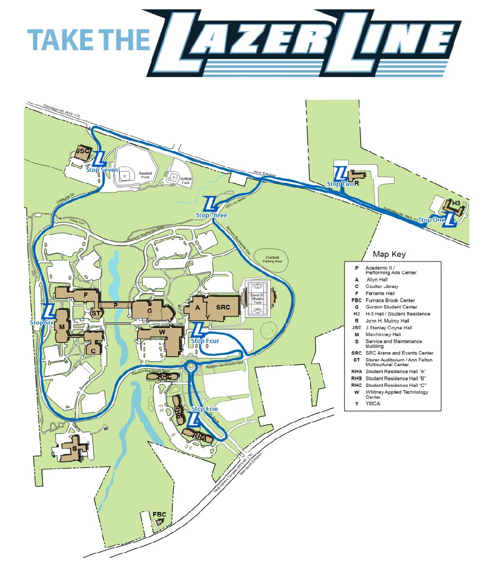 Lazer Line Map