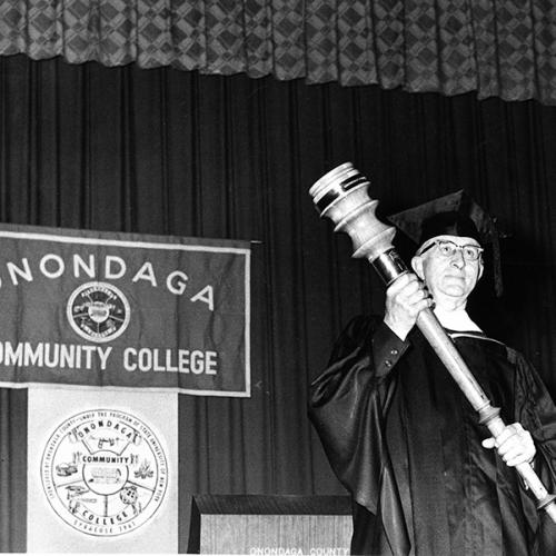 1964 - The first graduation