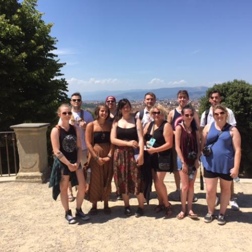 OCC students in Italy