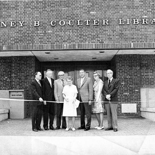 1973 - Library Dedication