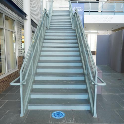 Stairs with procedure