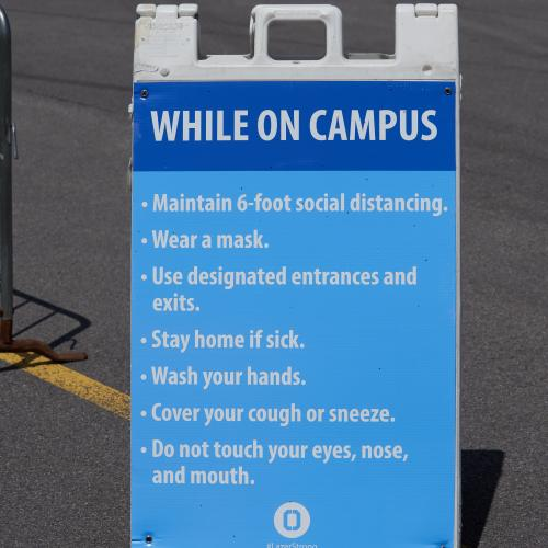 Around Campus Signage