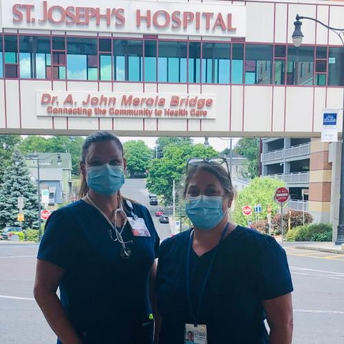 Nursing Professors working during the pandemic