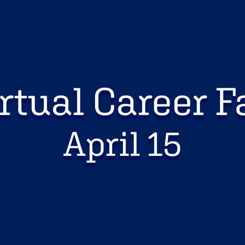 Virtual Career Fair - April 15