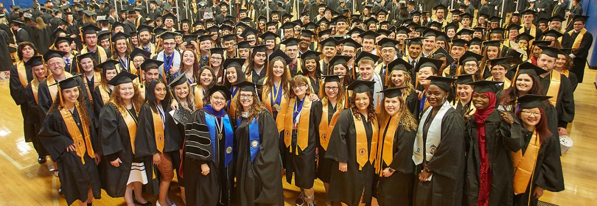 PTK Members at 2019 Commencement