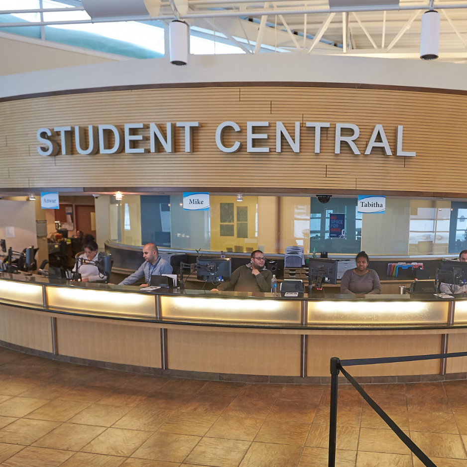 Student Central in Gordon